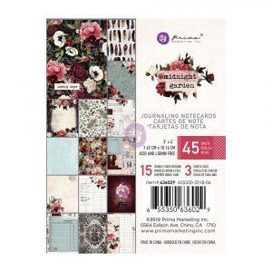 Midnight Garden 3x4 Paper Pad