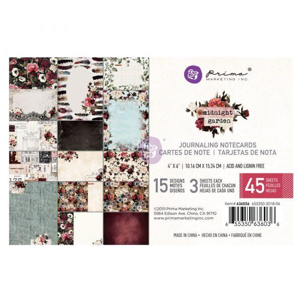 Midnight Garden 4x6 Paper Pad