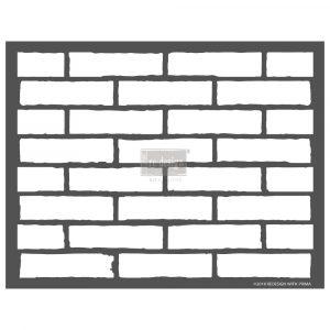 Redesign 3D Stencil - Vintage Brick