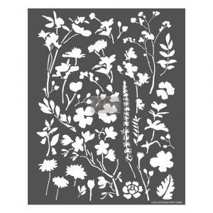 Redesign 3D Stencil - Modern Flora