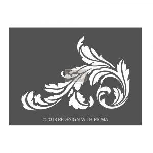 Redesign 3D Stencil - Sonnett Simple Scroll
