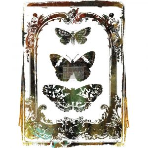 Re.Design Decor Transfers - Butterfly Frame