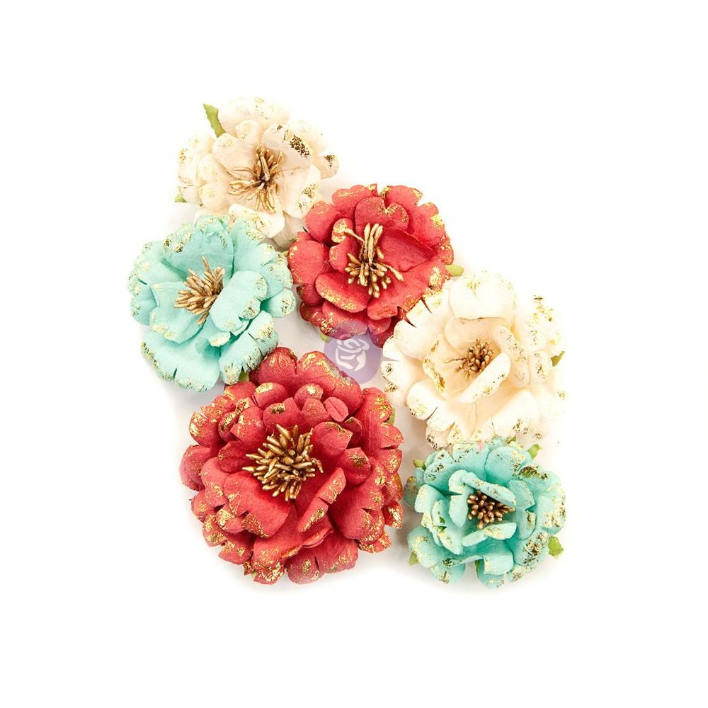 Midnight Garden Flowers - Pretty In Rouge