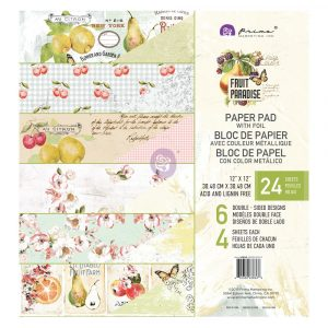 Fruit Paradise 12X12 Paper Pad