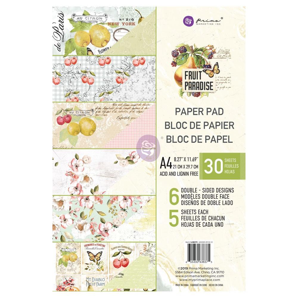 Fruit Paradise A4 Paper Pad