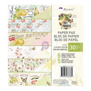 Fruit Paradise 6X6 Paper Pad