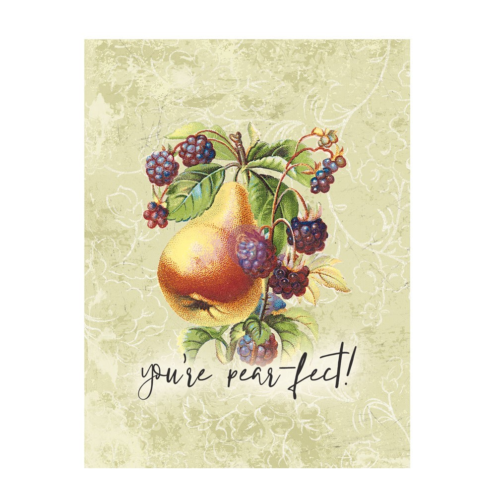 Fruit Paradise 3X4 Journaling Cards