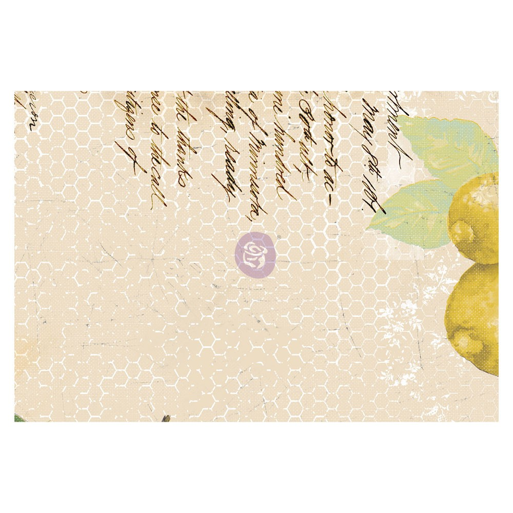 Fruit Paradise 4X6 Journaling Cards