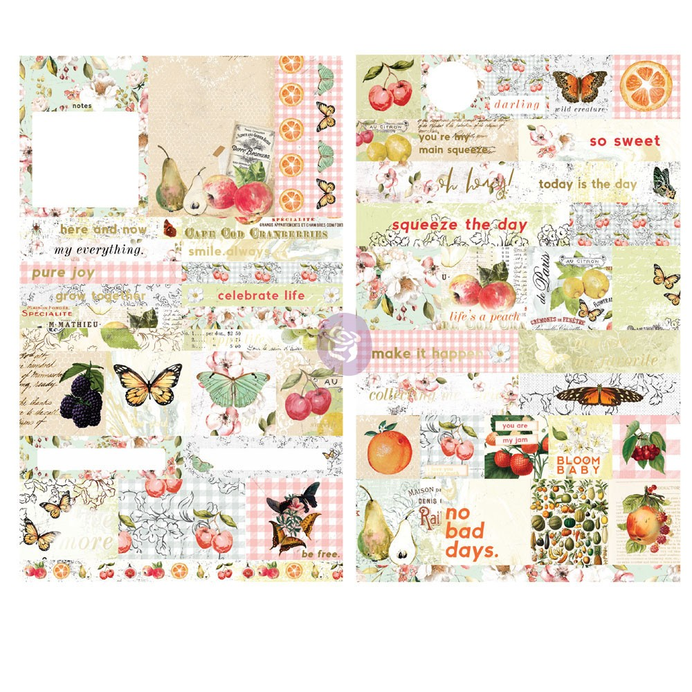 Fruit Paradise Quote And Word Stickers