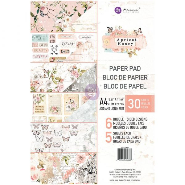 A4 paper pad