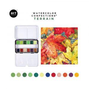 Watercolor Confections - Terrain