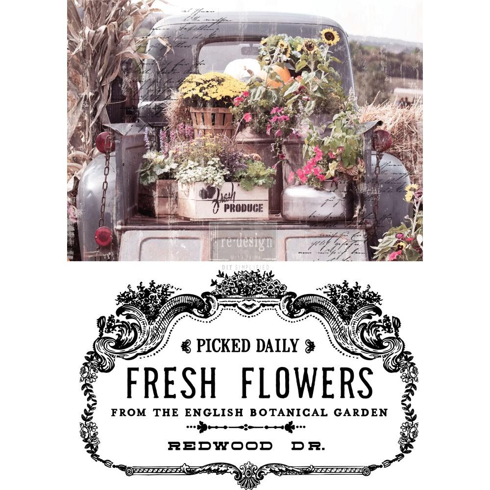 ReDesign Decor Transfers - Fresh Flowers