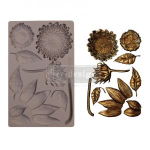"Redesign Decor Moulds® - Forest Treasures - 5"" x 8"", 8mm thickness"