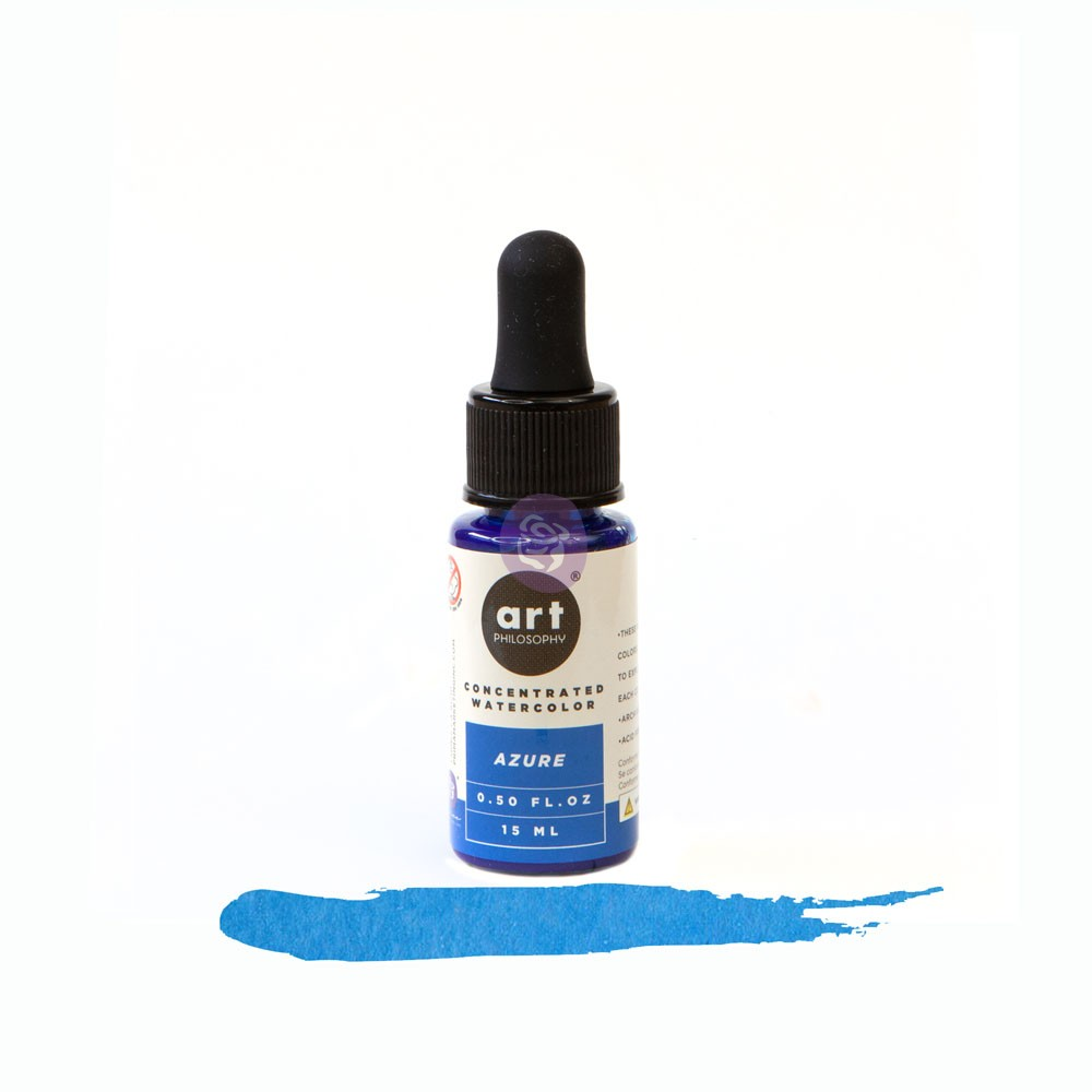 Art Philosophy Concentrated Watercolor 0.5 fl.oz - Azure