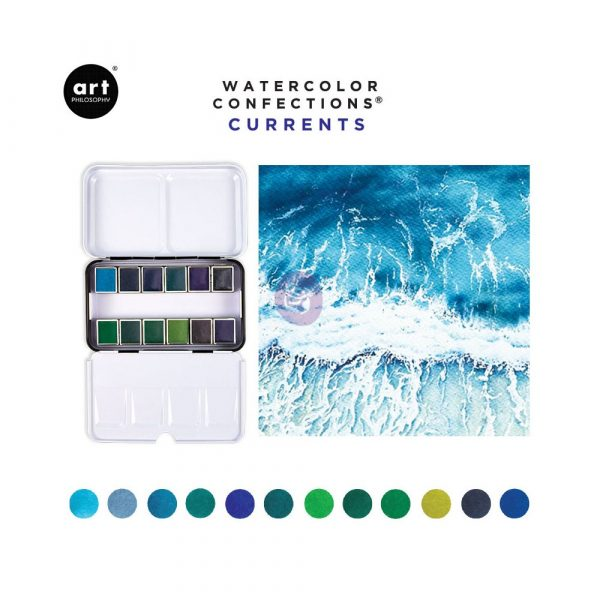 Watercolor Confections - Currents