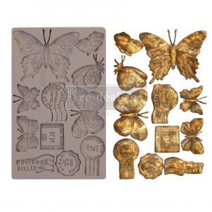 "Redesign Decor Moulds® - Butterfly In Flight - 5"" x 8"", 8mm thickness"
