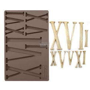 """Redesign Décor Moulds® 5""""x8"""" - Numerals"""