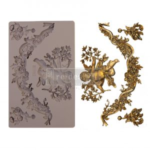 "Redesign Decor Moulds® - Divine Floral - 5"" x 8"", 8mm thickness"