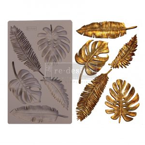 "Redesign Decor Moulds® - Monstera  - 5"" x 8"", 8mm thickness"