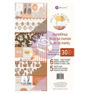 Golden Desert Collection A4 Paper Pad  - 30 sheets