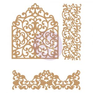 Chipboard Diecut - In The Garden -  3 pcs,  1.5-4.5