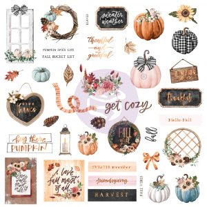 Pumpkin & Spice Collection Ephemera - 39 pcs