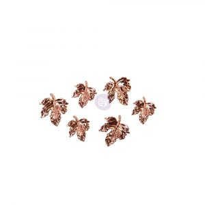 Pumpkin & Spice Collection Metal charms - 6 pcs