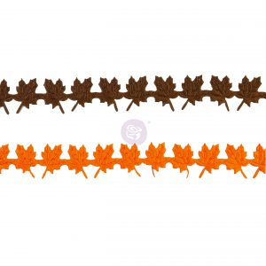 Pumpkin & Spice Collection Trims - 2 colors x 2 yards each