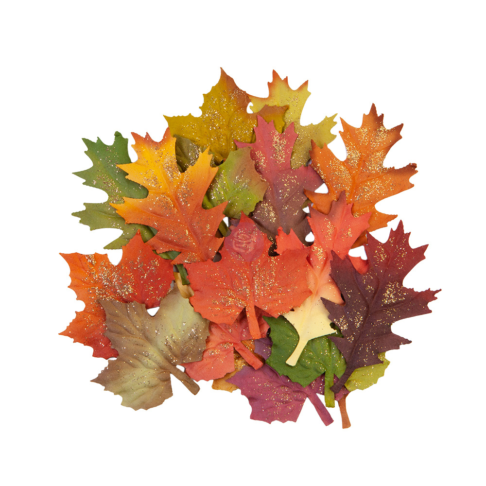 Prima Flowers® Pumpkin & Spice Collection - Fall Leaves -  18 pcs,  2