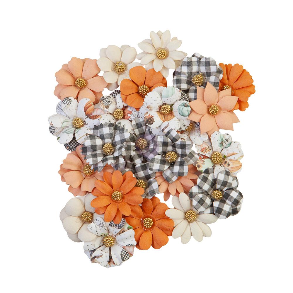 Prima Flowers® Pumpkin & Spice Collection - Warm Mittens -  24 pcs,  1