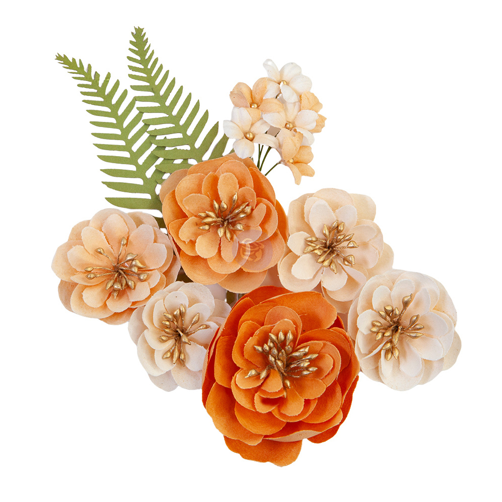 Prima Flowers® Pumpkin & Spice Collection - Together - 9pcs,  0.75-2.5