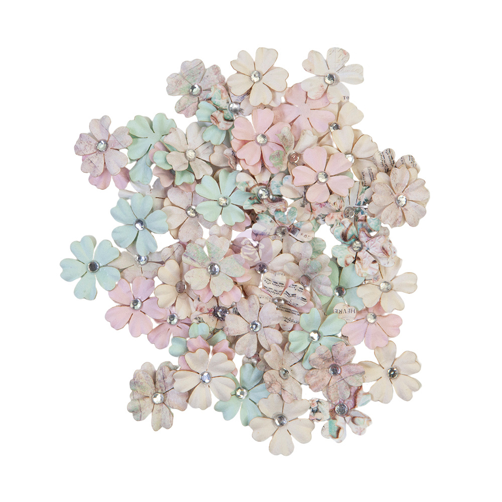 Prima Flowers® Sugar Cookie Christmas Collection - White Christmas - 80 pcs,  0.75