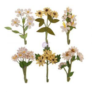 Prima Flowers® Golden Desert Collection - Desert Hill - 6 /(Branches 2-3in) (Flowers 0.75 in)