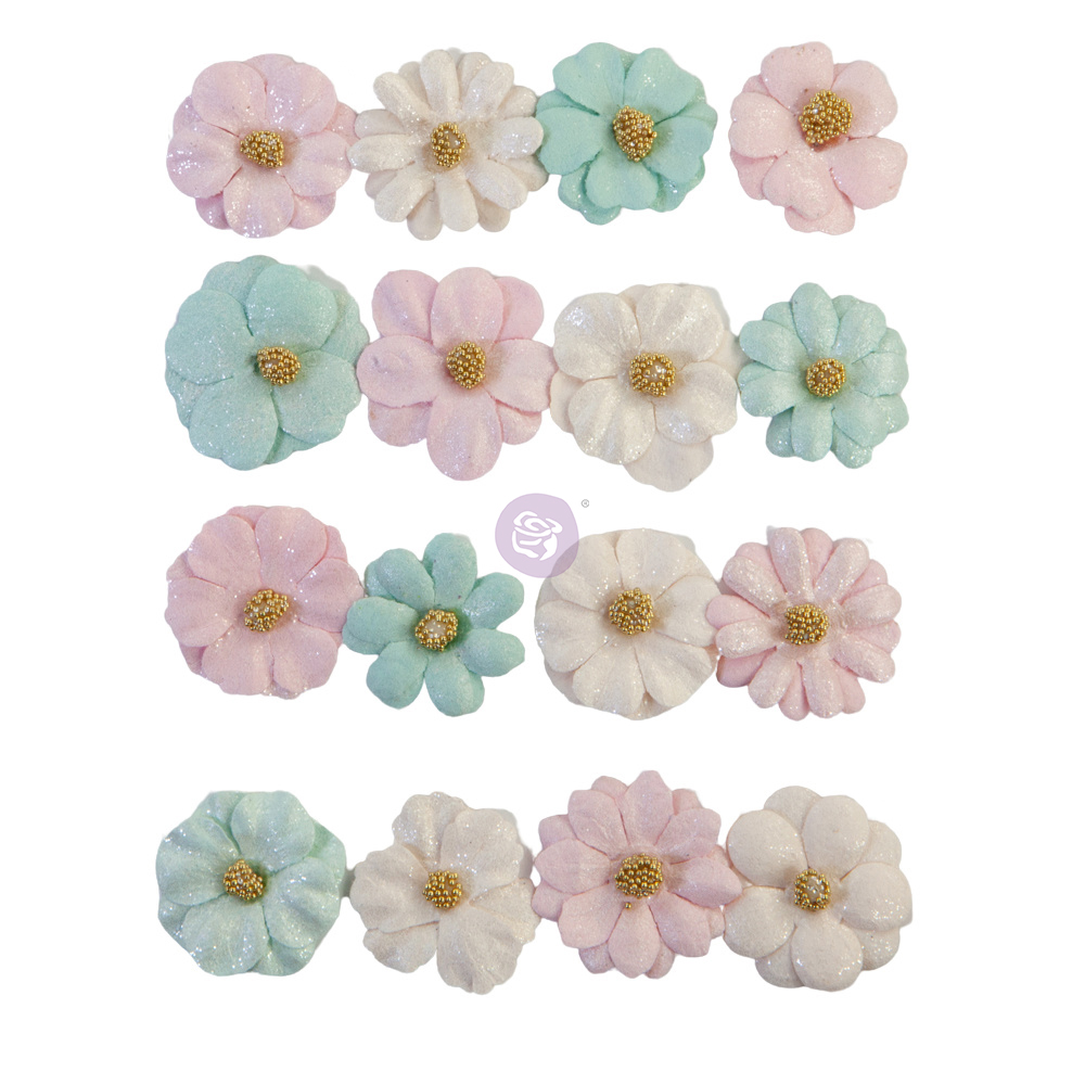 Prima Flowers® With Love Collection - Little Kisses - 16 pcs / 1 in