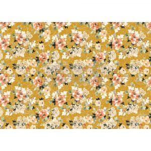 "Redesign Decor Rice Paper - Fleurette dress - 11.5"" x 16.25"""