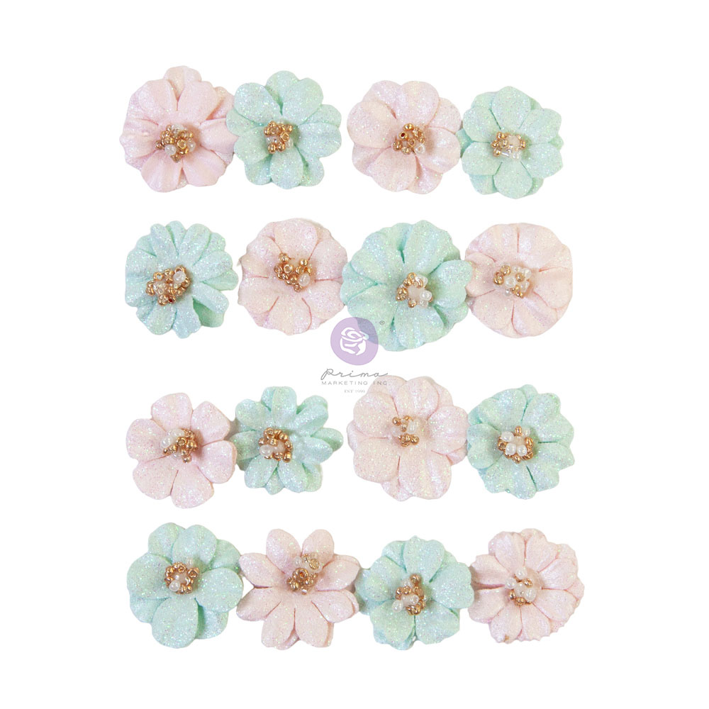 Prima Flowers® Magic Love Collection - Lovely Heart -  16 pcs / 0.8 in