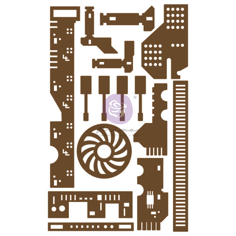 Chipboard Diecut - 15 pcs