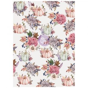 """Hello Pink Autumn Collection Rice Paper - 1 sheet, 11.7""""x8.3"""""""