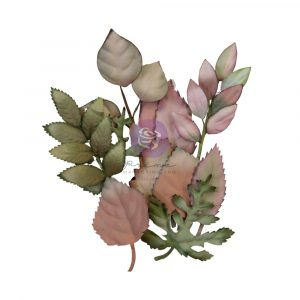 """Hello Pink Collection Flowers - Autumn Foliage - 12 pcs / 1-2.2"""" leaves, 2.2""""x4.5"""" branches"""