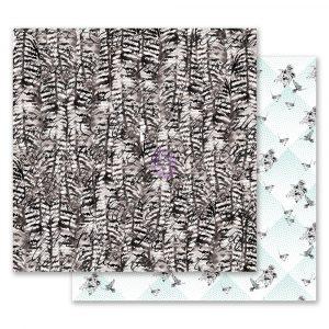 Flirty Fleur 12x12 Paper - Birds of a feather