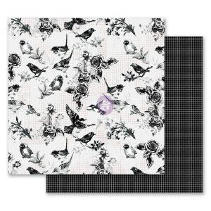 Flirty Fleur 12x12 Paper - Pretty Birds