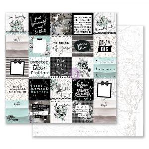 Flirty Fleur 12x12 Paper - So Lovely