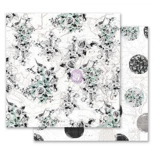 Flirty Fleur 12x12 Paper - Traveling Florals