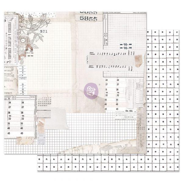 Pretty Pale 12x12 Sheet - The Last Hour