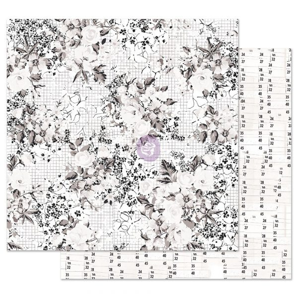 Pretty Pale 12x12 Sheet - Colorless