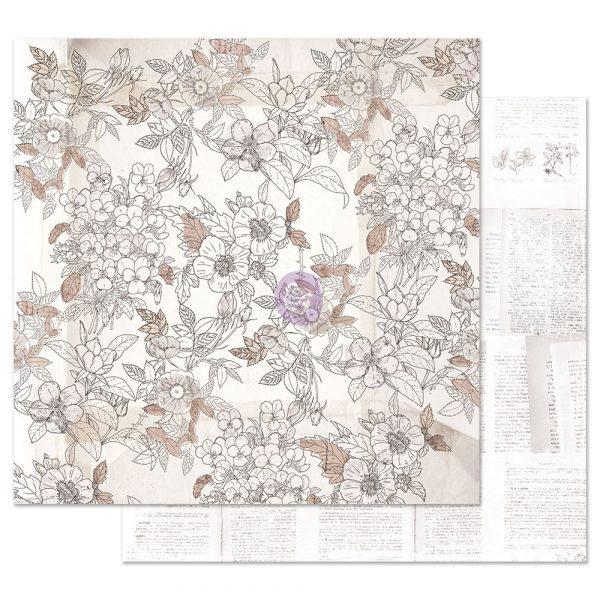 Pretty Pale 12x12 Sheet - Pretty in Pale