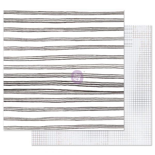 Pretty Pale 12x12 Sheet - Blurred Lines
