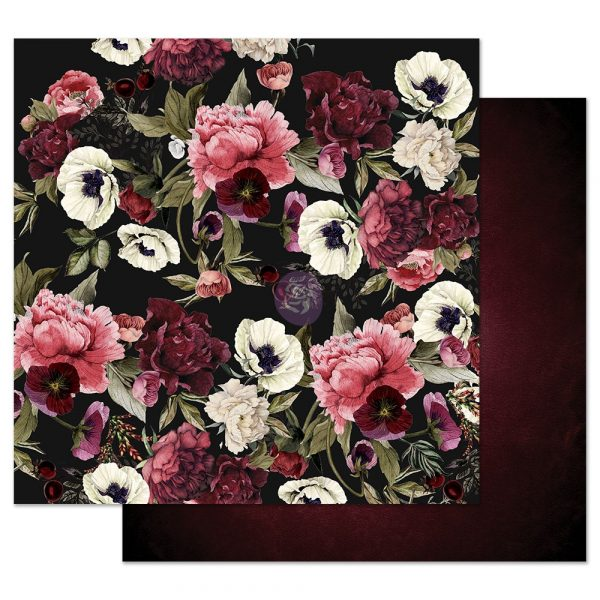 Midnight Garden 12x12 Sheet - Midnight garden