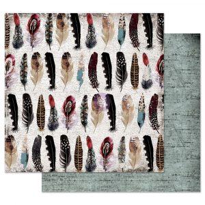 Midnight Garden 12x12 Sheet - Feather collector