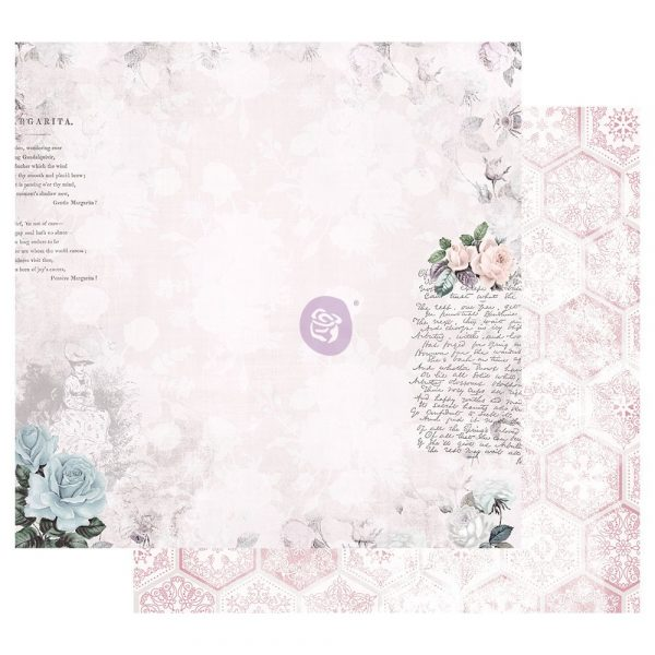 Poetic Rose 12x12 Sheet - Waiting for the One